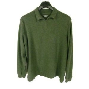 Croft & Barrow Men's 1/4 Zip Sweater Size XL